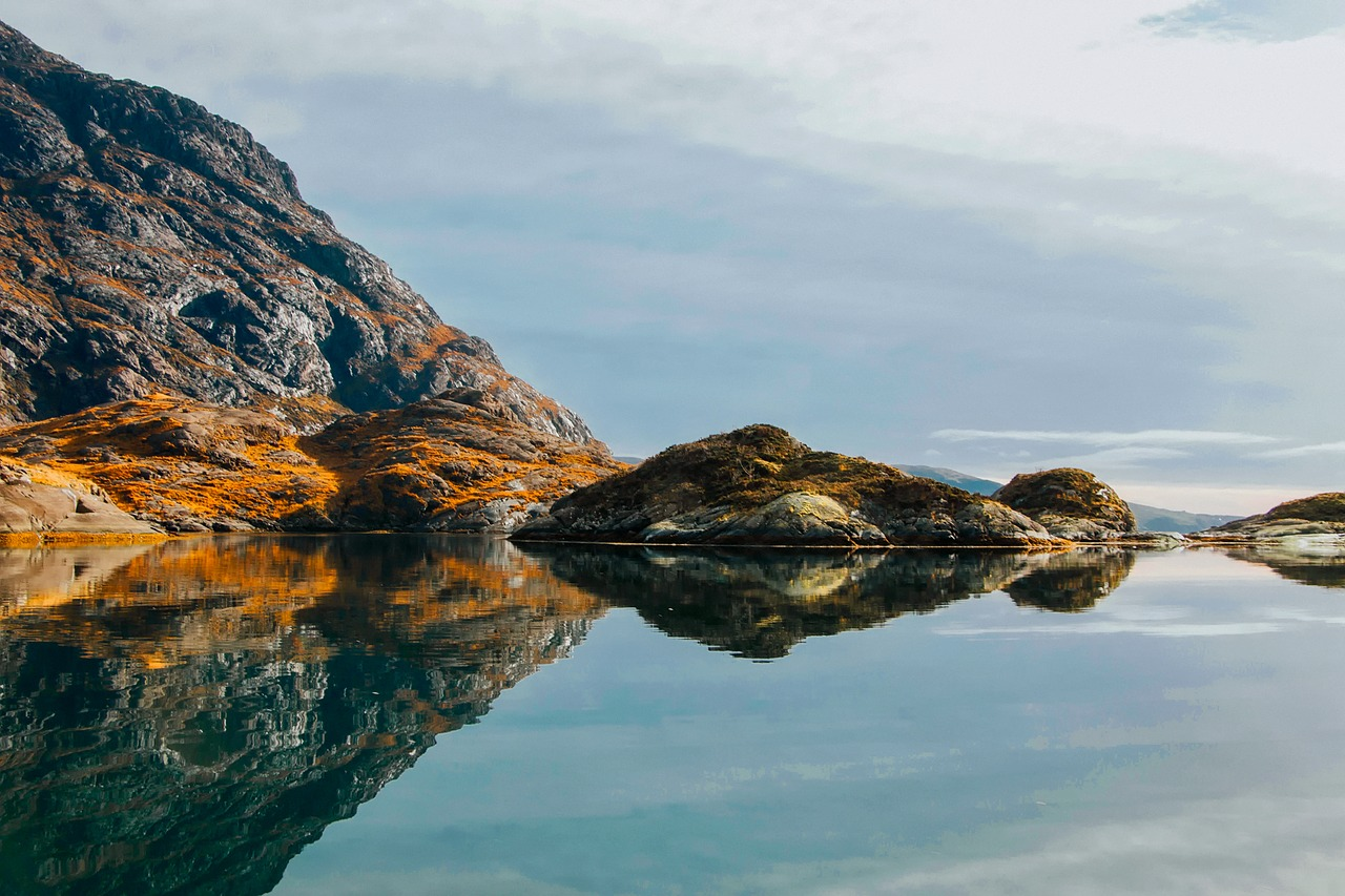 isle of skye, scotland, sea